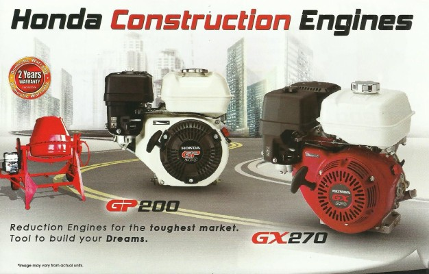 Honda Construction Engines